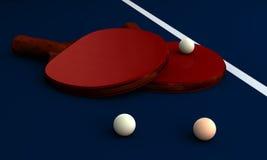 Ping Pong Fotografia Stock Libera da Diritti