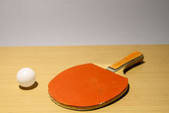 Ping pong for amateur racers. stock image