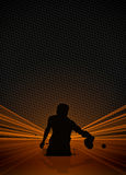 Ping pong background Stock Photos