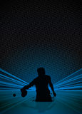 Ping pong background Royalty Free Stock Images