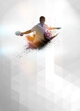 Ping pong background stock images