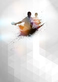 Ping pong background Royalty Free Stock Image