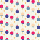 Ping-pong background pattern Stock Images