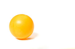 Ping pong ball. Ping-pong ball isolated on white background royalty free stock photography
