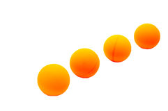 Ping-pong balls. Color balls equipment for ping-pong. object activity sport game Stock Image
