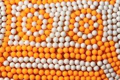 Ping-pong balls Stock Image