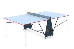 Ping-pong de los tenis de mesa aislado Foto de archivo
