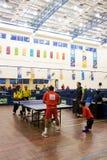 Ping-pong des hommes pour les personnes handicapées Photographie stock