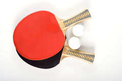 Ping-pong equipment Stock Photos