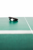 Ping pong equipment Stock Images