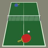 Ping pong game Royalty Free Stock Image