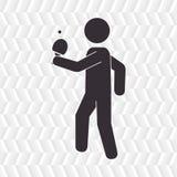 Ping pong game design Stock Photo