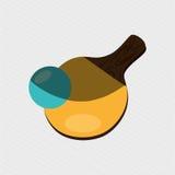 Ping pong game design Royalty Free Stock Photos