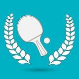 Ping pong game design Stock Photos