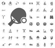 Ping pong icon. Sport illustration vector set icons. Set of 48 sport icons. Ping pong icon. Sport illustration vector set icons. Set of 48 sport icons stock illustration