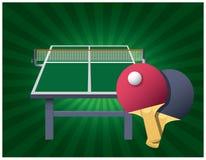 Ping Pong-lijstraad Royalty-vrije Stock Afbeelding