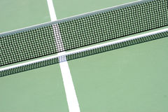 Ping pong net and line Stock Photo