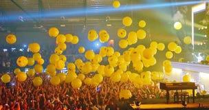 Ping Pong på Armin Only Kiev Royaltyfria Foton