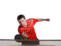Ping pong player Stock Photos