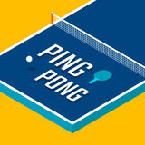 Ping-pong posters design Stock Images