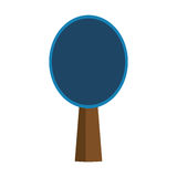 Ping pong racket Stock Photography