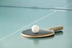 Ping-pong racket Royalty Free Stock Photos