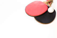 Ping-pong rackets Stock Photography