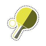 Ping pong rackets icon Stock Photos