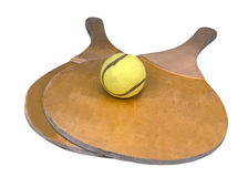 Ping pong rackets Royalty Free Stock Photography