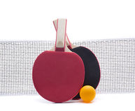 Ping pong raquet Stock Images