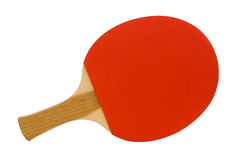 Ping Pong Red Paddle Stock Image