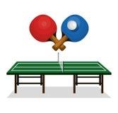 Ping pong sport emblem icon Stock Photos