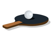 Ping pong sport emblem icon Royalty Free Stock Photography