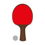 Ping pong sport emblem Royalty Free Stock Images