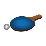 Ping pong sport emblem Stock Photo