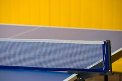 Ping-pong table Royalty Free Stock Image