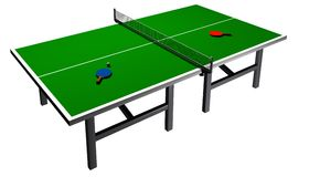 Ping Pong Table Royalty Free Stock Image