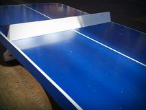 Ping Pong Table Stock Foto