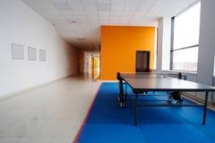 Ping pong table Stock Photos