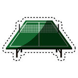 Ping pong table icon Royalty Free Stock Photos
