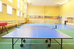 Ping-pong table Royalty Free Stock Photo