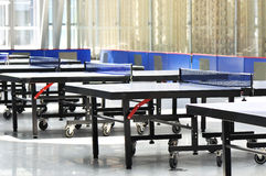 Ping-pong tables Royalty Free Stock Images