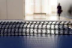Ping Pong Tabletennis Net negra Fotografía de archivo libre de regalías