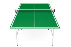 Ping-pong tennis table Stock Photos