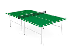 Ping-pong tennis table Stock Photography