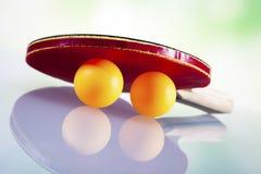 Ping pong theme Stock Image