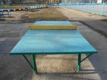 Ping-pong vert Photographie stock libre de droits