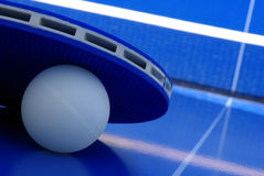 Ping-pongausrüstung Stockfotos
