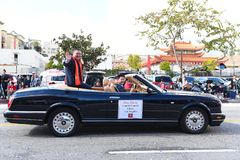 Ping Zhang Consul General LA Chinese New Year Parade stock photos