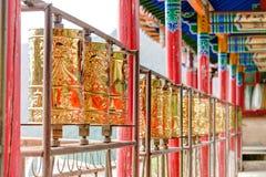 PINGAN, CHINA - Jul 9 2014: Mani,wheel at Shazong Ritod Monaster Stock Image